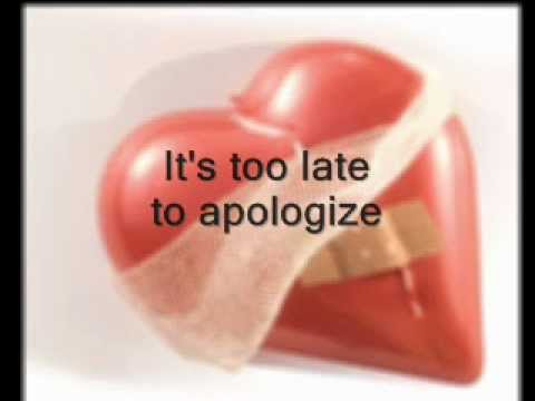 Apologize by Luke Bryan (with lyrics)