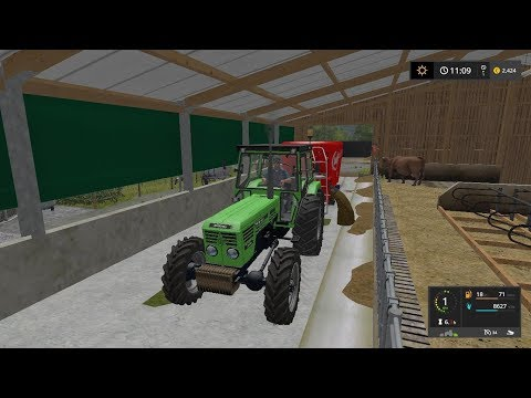 Feeding cows | Small Farm | Farming Simulator 2017 | Episode 15