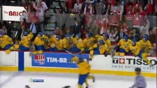 Winning Goal ZIBANEJAD Mika (Sweden - Russia) U20 Hockey World Championship 2012