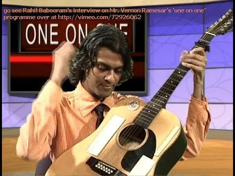 Rahil Babooram - 2013/08/13 'one on one' programme