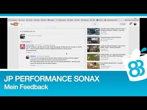 jp performance bei sonax mein feedback und meine bitte. Black Bedroom Furniture Sets. Home Design Ideas