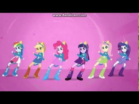 Мой маленький пони Девочки из Эквестрии - песня  в  столовой на  русском - послушать онлайн в формате mp3 в максимальном качестве