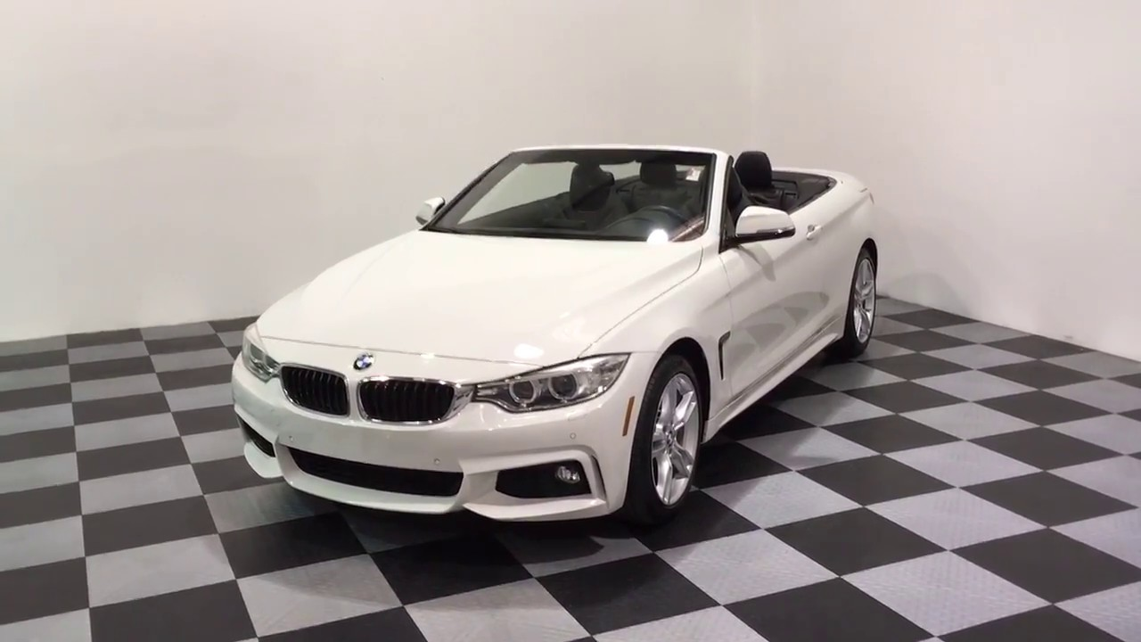 2015 bmw 428i xdrive m sport wd convertible for sale at eimports4less [ 1280 x 720 Pixel ]