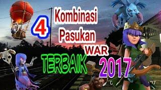 4 Kombinasi Pasukan WAR Terbaik ditahun 2017. BEST Momen Attack Event TH 9 Murni