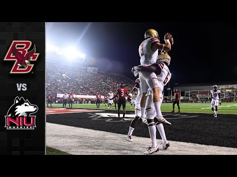 Boston College vs. Northern Illinois Football Highlights (2017)