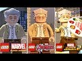 Evolution of STAN LEE in LEGO Marvel Games! (Super Heroes 1 + 2 and Avengers) [2013 - 2017]