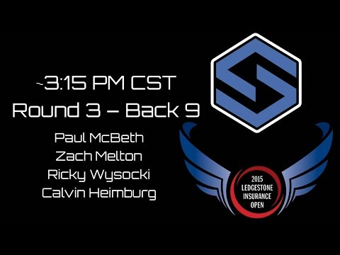 2015 Ledgestone Insurance Open presented by Discraft - Round 3 - McBeth Melton Wysocki Heimburg