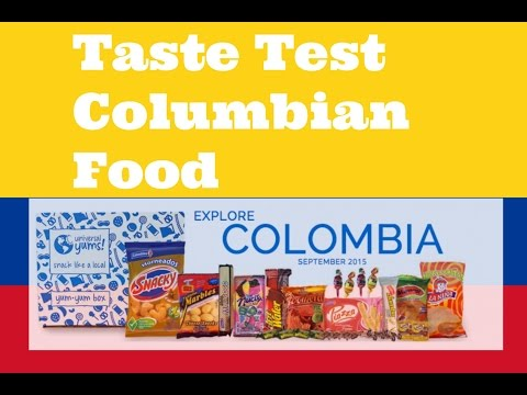 Taste Test Columbia Food