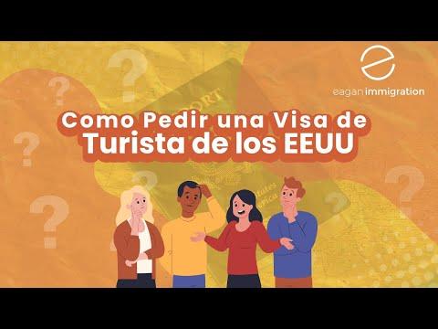 Como Pedir una Visa de Turista de los EEUU