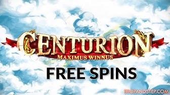 Centurion Freespins Slot - William Hill FOBT Slot