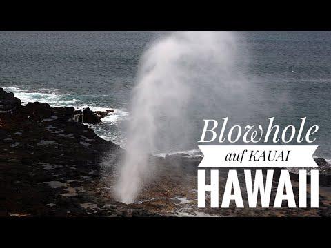 Hawaii - Kauai (Spouting Horn)
