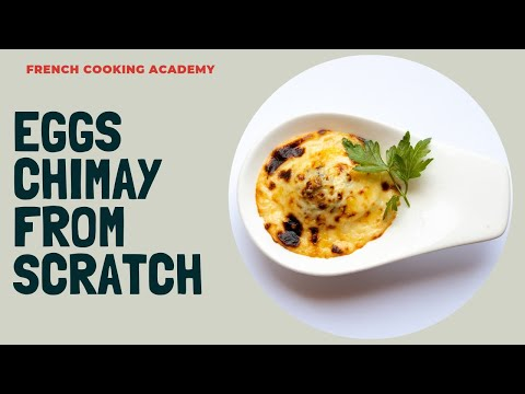 This is how you make eggs chimay | broiled eggs with mushroom sauce and cheese