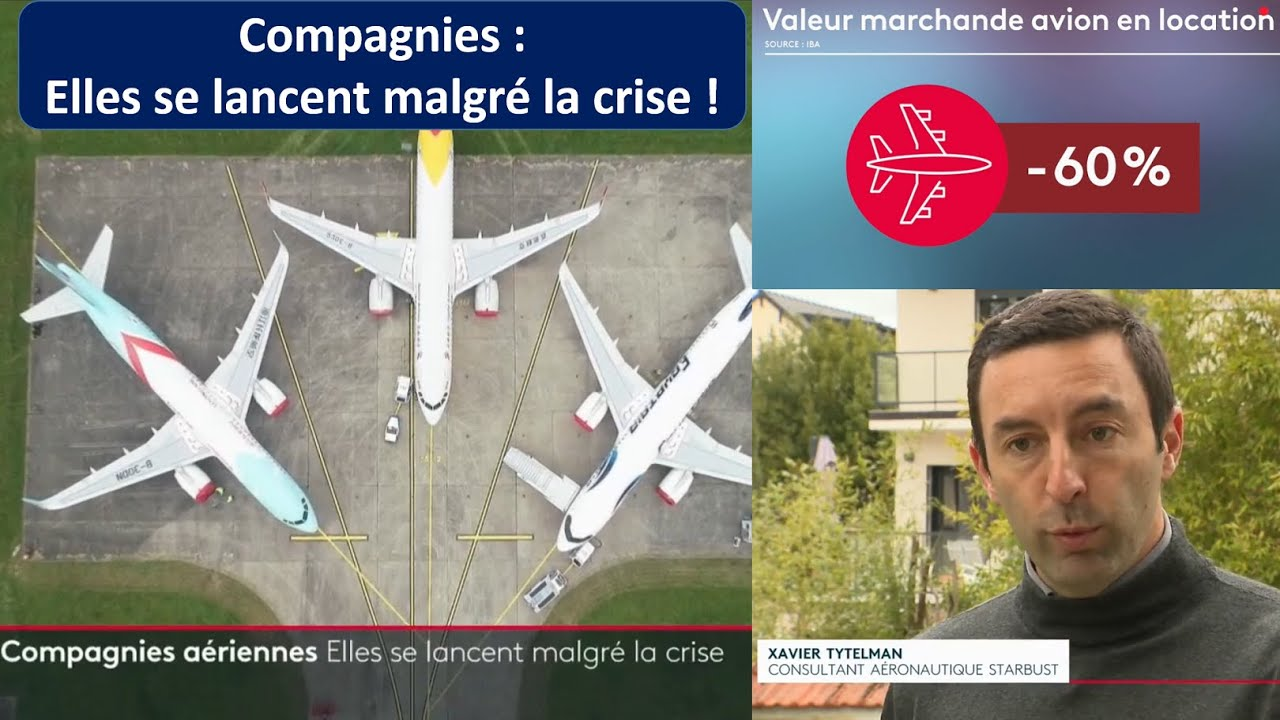 Des compagnies aériennes se lancent par dizaines en pleine crise : folie ou génie opportuniste ?