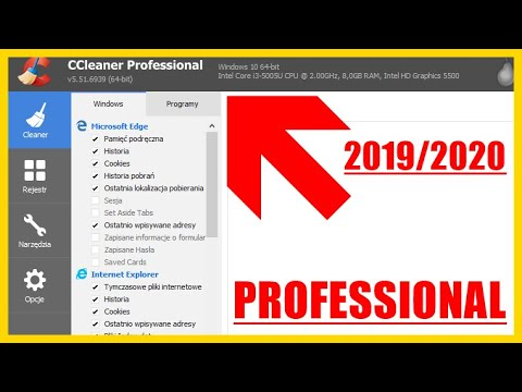 CCleaner Professional v5.62 - Activation Key / Klucz