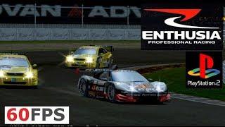 Enthusia Racing PS2 PCSX2 on PC 60fps gameplay 16:9 (Konami, 2005)