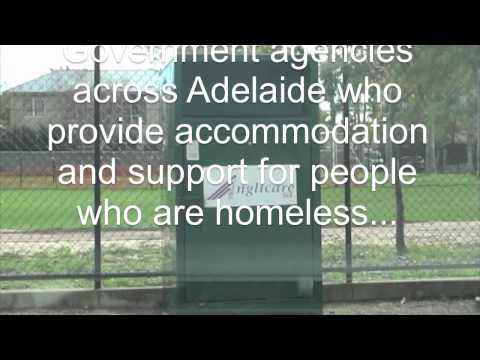Homelessness in Australia - The streets of Adelaide