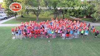 East Central University accepts the ALS Ice Bucket Challenge
