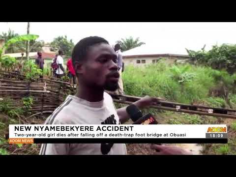 New Nyamebekyere Accident - Adom TV News (16-9-21)
