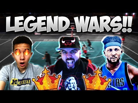 PETER MCCONVILLE + FIRST LEGEND + HG POWER!! LEGEND WARS IN MYPARK! - NBA 2K17