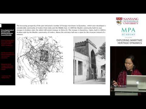 Conference: Exploring Maritime Heritage Dynamics - Mei Qing