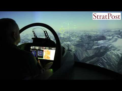 Flying the new HAL-BAE Systems Advanced Hawk