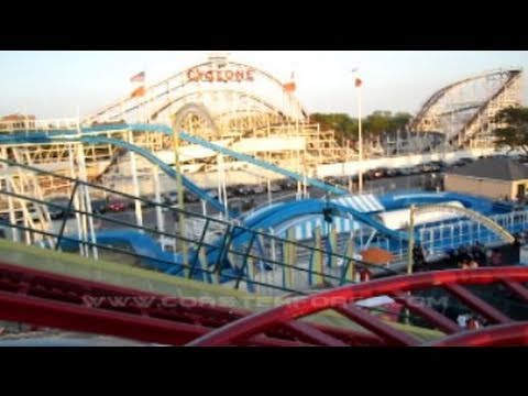 Tickler Front Seat on-ride HD POV Luna Park at Coney Island