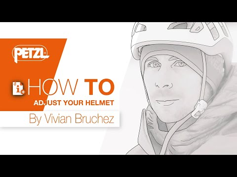 HOW TO adjust your helmet - Vivian Bruchez