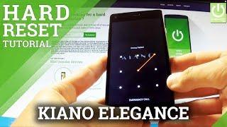 Hard Reset KIANO Elegance 5.0 - Remove Password from KIANO