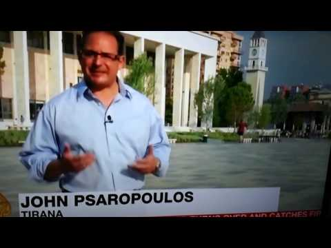 Giant spotted in Turin Albania 2017 on Al-Jazeera English