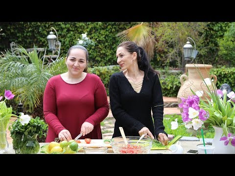 Quinoa Tabouli Recipe - Heghineh Cooking Show