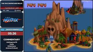 The 1545 Showcase: Crash Bandicoot, Super Mario 64, Spyro: The Dragon, and Banjo-Tooie back to back!