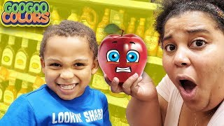 No Mom! I don't Like Apples! (Gaga Baby Grocery Shopping & Bedtime Routine)