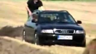 Orka samochodem plowing car