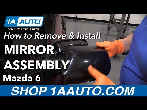 How to Replace Mirror Assembly 03-08 Mazda 6