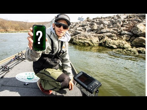 How To Find BIG Fish On UNKNOWN Lakes This Spring || 50 State Fishing Tour (Mound City Lake KS)