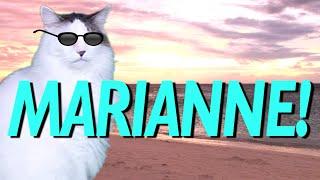 HAPPY BIRTHDAY MARIANNE! - EPIC CAT Happy Birthday Song