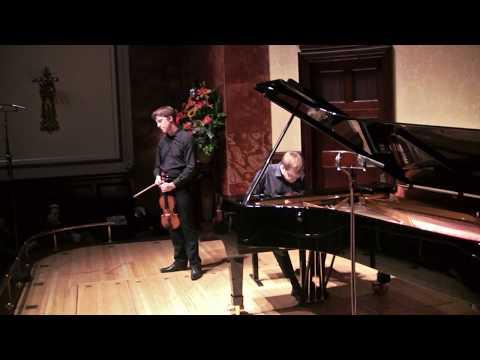 Foyle-Stsura Duo: Mozart Sonata in E minor K304 - 'Tempo di Menuetto' (Michael Foyle, Maksim Stsura)