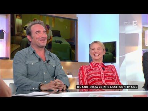 Dujardin et Efira, à la hauteur - C à vous - 02/05/2016