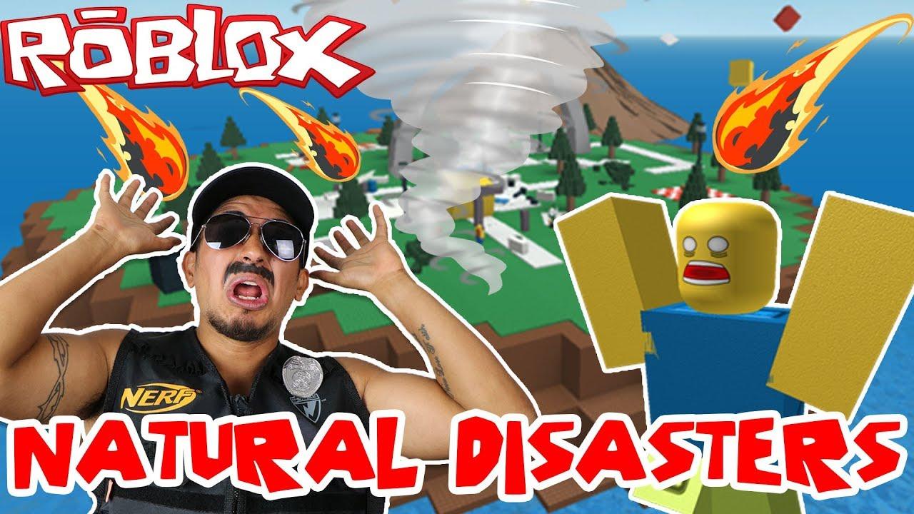 Worst Roblox Survivor Grumpy Cop Plays Roblox Natural Disasters
