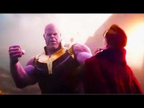 Dr.Strange Vs Thanos epic fight scene | Infinity war