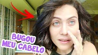 PINTANDO O CABELO COM PRODUTO COREANO! (DEU RUIM, NÃO CURTI) thumbnail