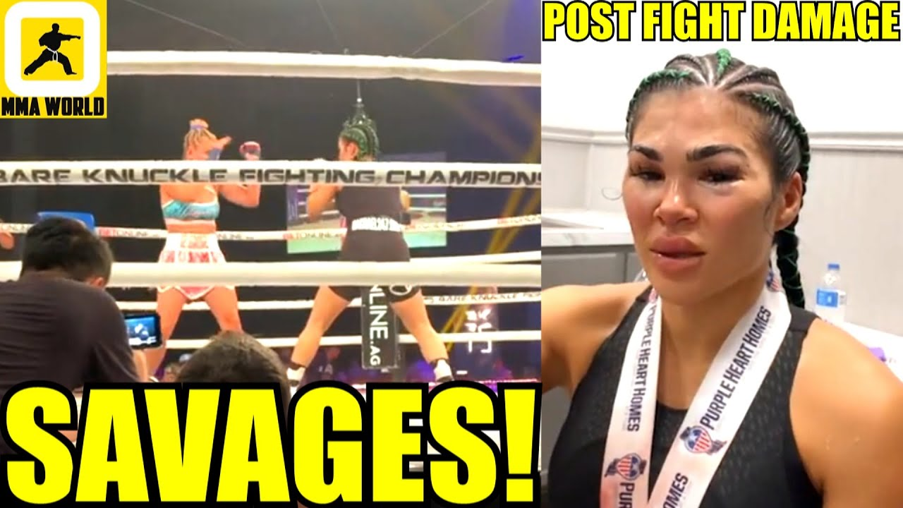 Rachael Ostovich reveals what she said to Paige VanZant during ...