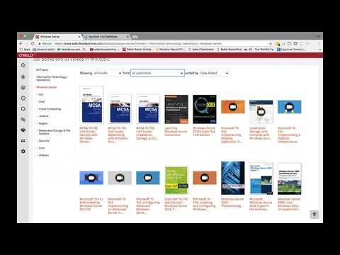 Demo Tour IT-University SAFARI Books Online