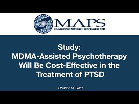 Study: MDMA-Assisted Psychotherapy Will Be More Cost-Effective than Other Treatments for PTSD