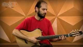 Violão Giannini Nylon GWNSTX série Performance