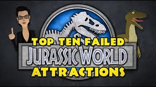 Top 10 Failed JURASSIC WORLD Attractions (Jurassic World Fallen Kingdom / Jurassic Park Parody)