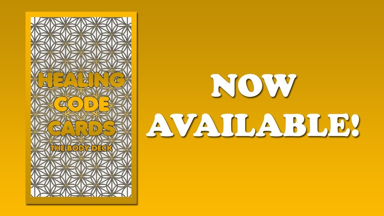 Brad Johnson New Earth Teachings ~ The Healing Code Cards