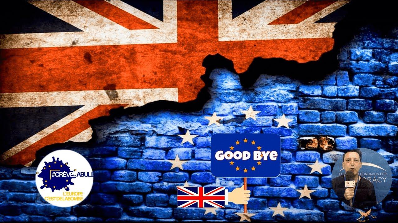 BYE BYE BRITAIN 🇬🇧  #Crèvelabulle, l'Europe c'est de la bombe !