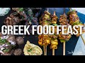 Greek Food Feast - Ft. Grilled Chicken, Lamb + Beef! | SAM THE COOKING GUY 4K
