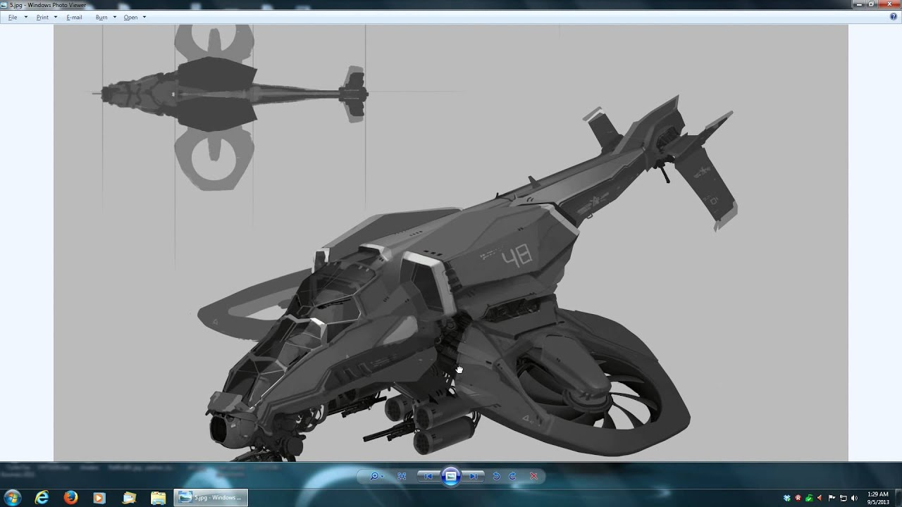 Player Copter Concept Art - YouTube